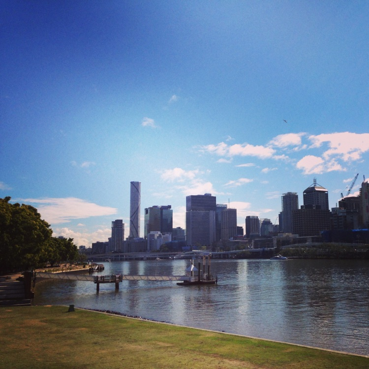 Sunny Brisbane on a winter's day
